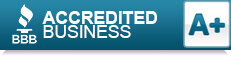 BBB A+ Rated Accredited Business