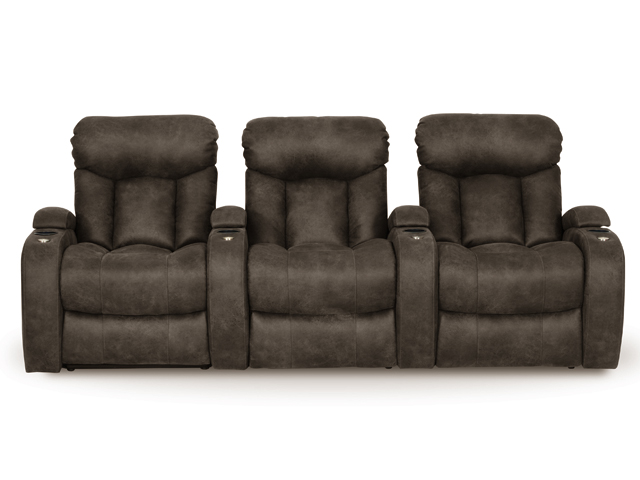 12011 chaise berkline bonded leather theater seats