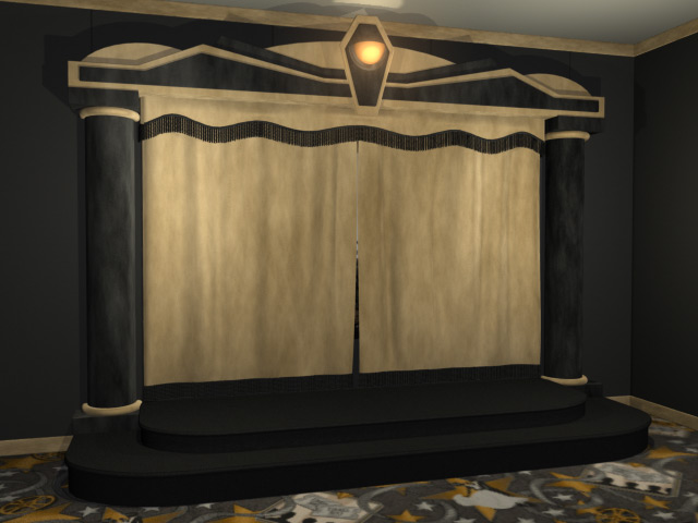Atlas Home Theater Stage