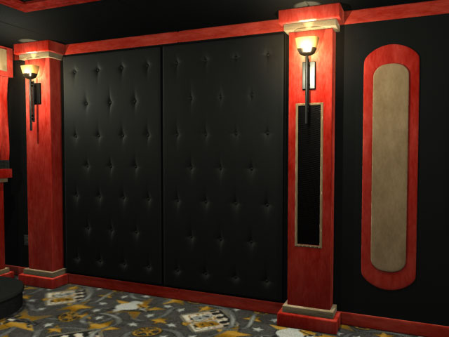 home theater columns Gallery
