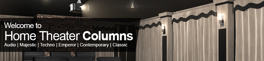 soundright home theater columns - Home Theater Decor