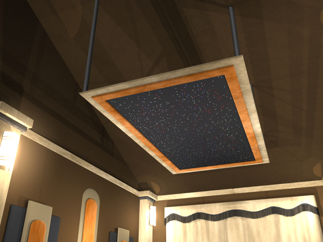 Standard Fiber Optic Home Theater Panels