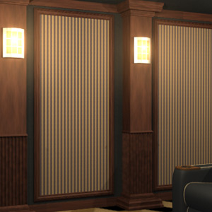 Home Theater Wall Panels acoustical framed wall panels for home theaters