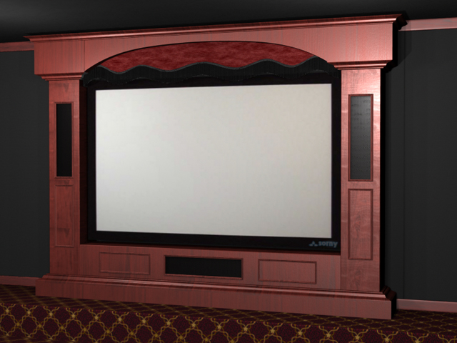 Galleon Home Theater Stage
