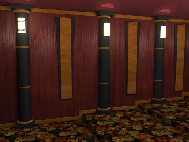 Techno Round Home Theater Column