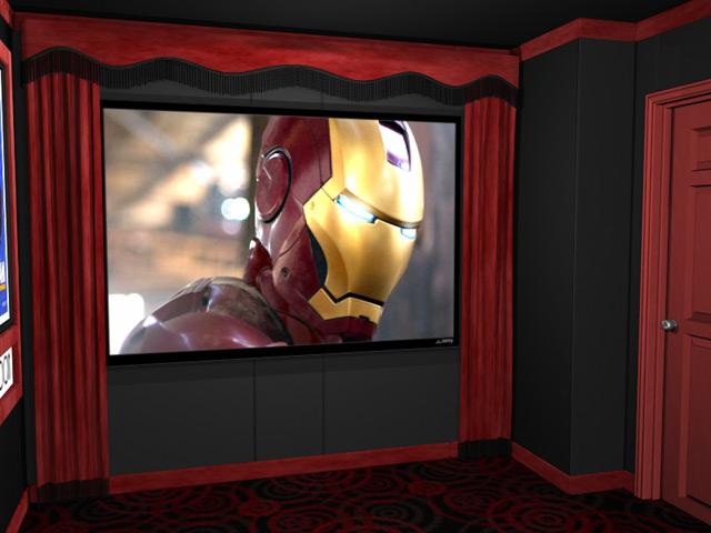 Superb Standard Theater Curtains