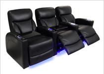 Fully Loaded Home Theater Seating