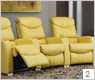 Palliser Epych 41914 Home Theater Chairs