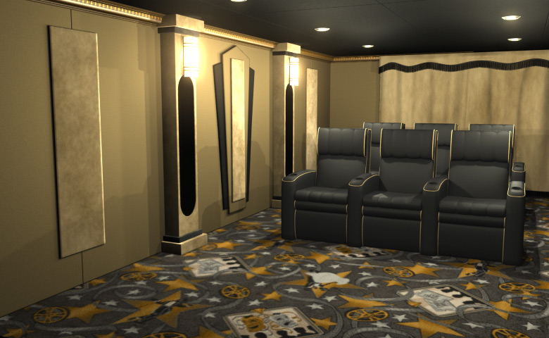 home theater decor packages   28 images   home theater