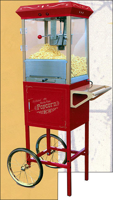 popcorn machines commercial