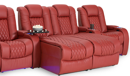 Seatcraft Diamante Chaise Theater Seating