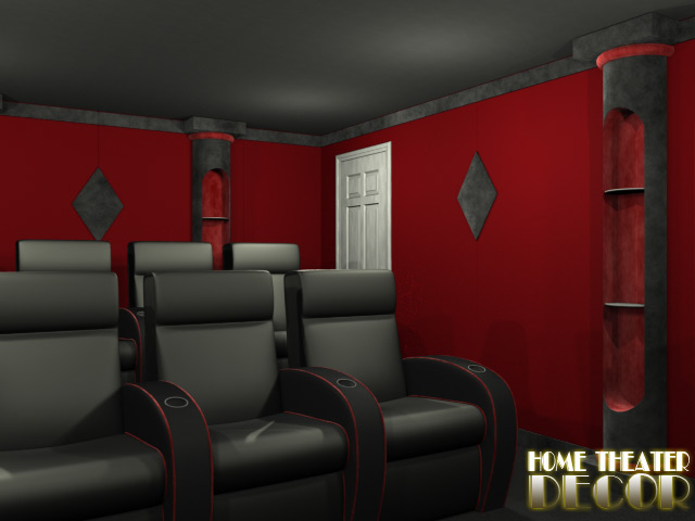 Classic Storage Home Theater Column