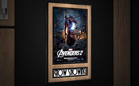 movie poster frame - Home Theater Decor