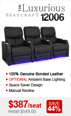 12006 Home Theater Seating Sale