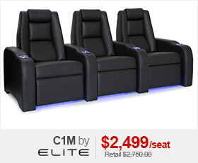 Elite C1M Home Theater Seating
