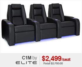Elite C1M Home Theater Seating