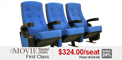 First Class Movie Theater Chairs