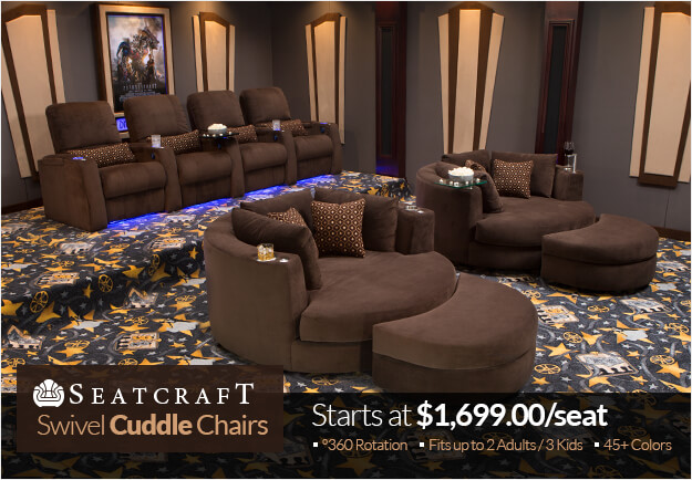 Seatcraft Swivel Cuddle Chairs