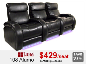 Lane 108 Alamo Home Theater Seating