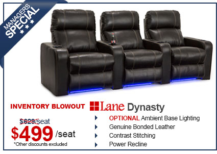 Lane Dynasty Home Theater Seating