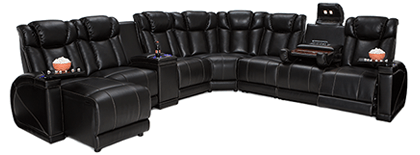 Lane Sigma Home Theater Sectional