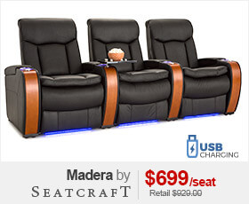 Seatcraft Madera Home Theater Furniture