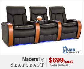 Seatcraft Madera Home Theater Furniture