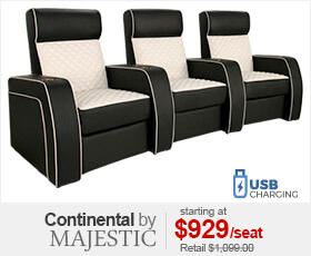 Majestic Continental Home Theater Seating