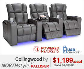 Palliser Collingwood Home Theater Seating