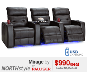 Palliser Mirage Home Theater Seating