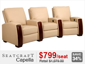 Seatcraft Capella Home Theater Furniture