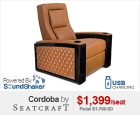 Seatcraft Cordoba Theater Seating