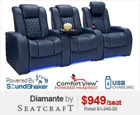 Seatcraft Diamante Home Theater Seat