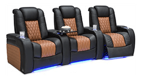 Seatcraft Diamante Two-Tone Theater Seating