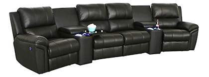 Seatcraft Madison Home Theater Sofa