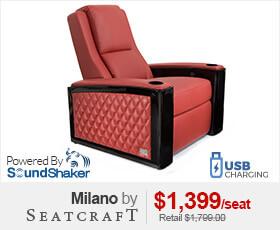 Seatcraft Milano Theater Seats