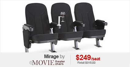 Seatcraft Mirage Movie Theater Seating