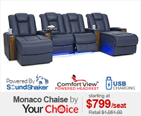Seatcraft Monaco Chaise Home Theater Seating