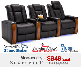 Seatcraft Monaco Home Theater Seating