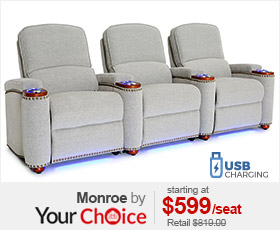Seatcraft Monroe Your Choice Home Theater Seating