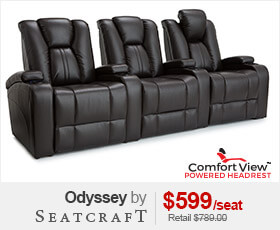 Seatcraft Odyssey Theater Chairs