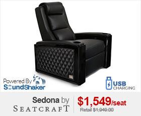 Seatcraft Sedona Home Theater Seat