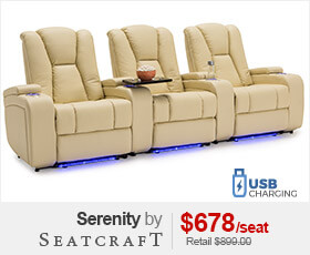 Seatcraft Serenity Media Room Seats