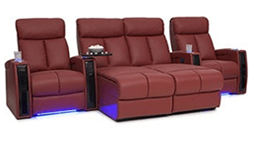 Seatcraft Seville Chaise Theater Seating