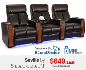 Seatcraft Seville Media Room Chairs