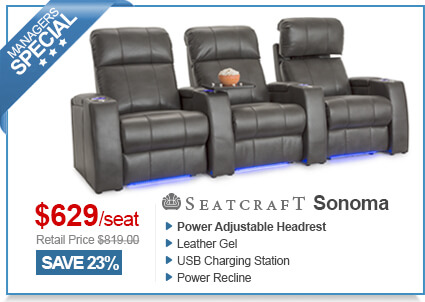 Seatcraft Sonoma Media Room Seating