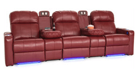 Seatcraft Venetian Love Console Home Theater Seating