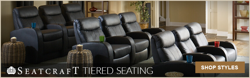 Seatcraft Tiered Home Theater Stage Seating