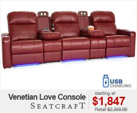 Seatcraft Venetian Love Console Seating