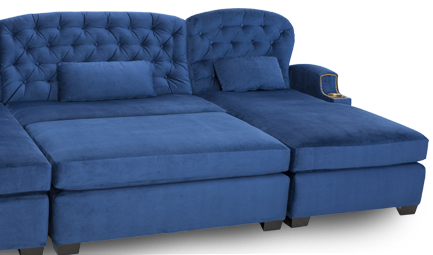 Cavallo Chateau Media Lounge Sofa